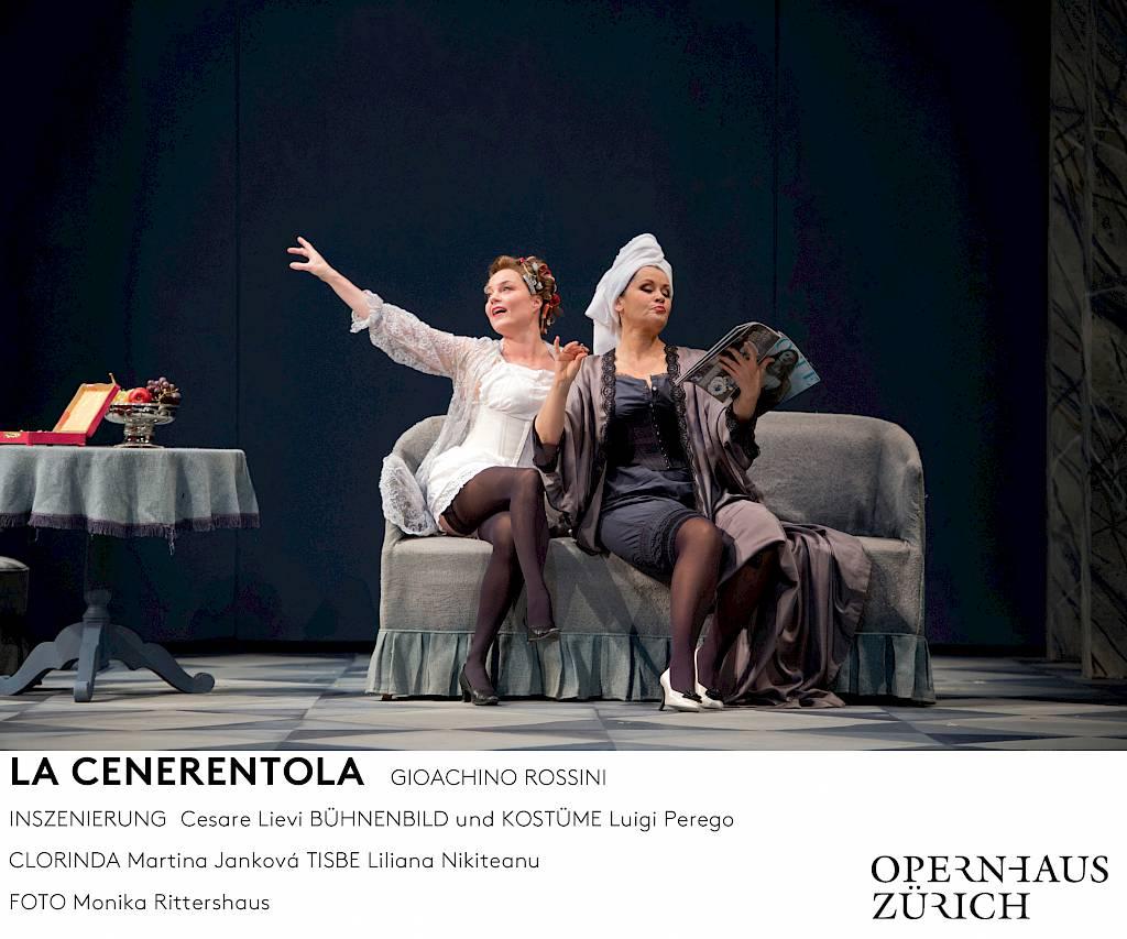 Bildergebnis für oper zürich la cenerentola